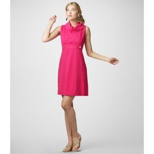Lilly Pulitzer Finn Shift Ponte In Hotty Pink